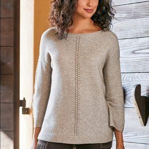 Soft Surroundings Dottie Sweater